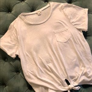 JCrew White T-shirt